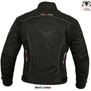 Dare Rider™ Cool Air System Cordura Textile Jacket 100% Waterproof