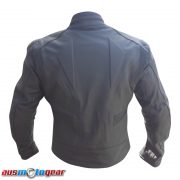 matt leather back