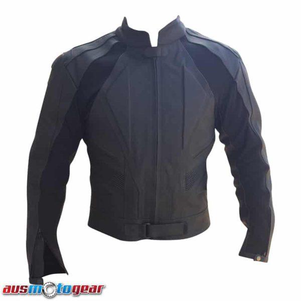 matt leather front