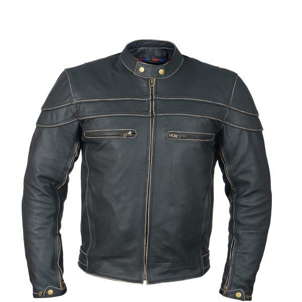 leather jacket cafe racer