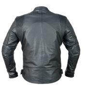 leather jacket ploe back